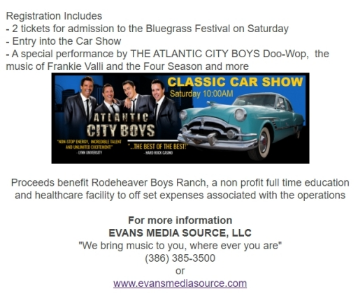 2021 Rodeheavers Classic Car Show information