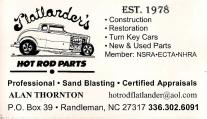 Flatlanders Hot Rod Parts