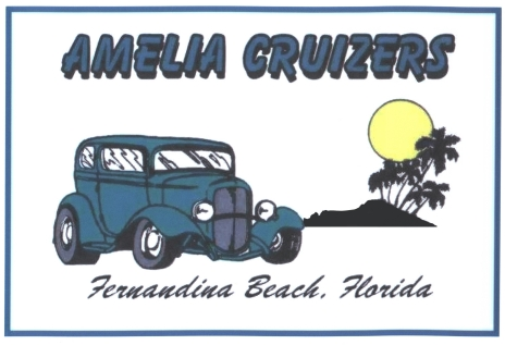 Amelia Cruizers Car Club Logo